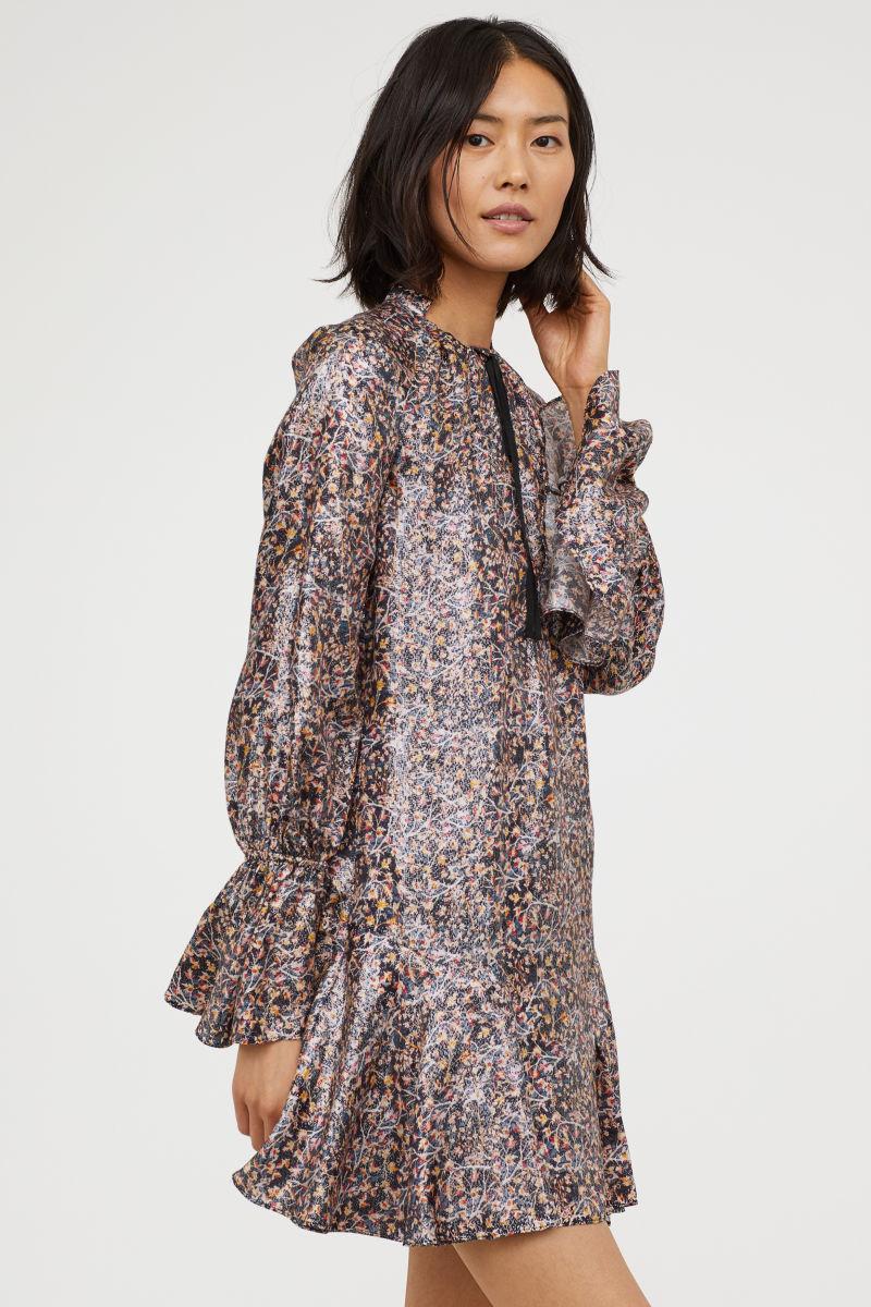 H&M Kleid Seidenmischung