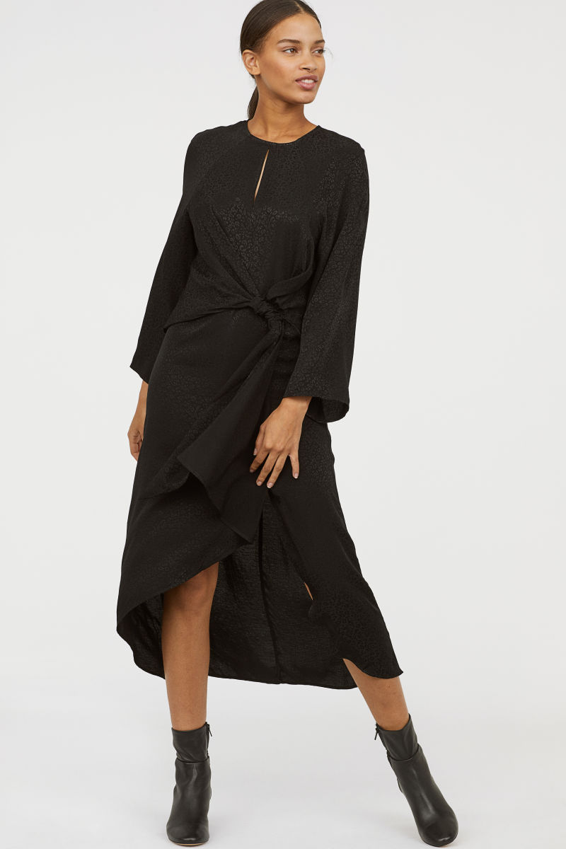 H&M Kleid aus Jacquard