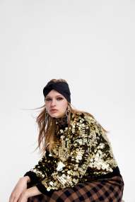 Weihnachtspullover-gold