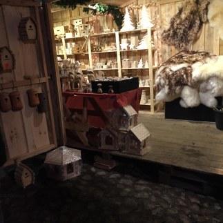 Holzhütten Weihnachtsmarkt Gut Barsthorst