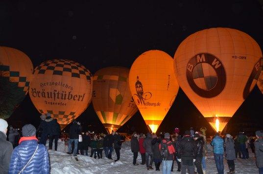 Ballonglühen Tegernsee