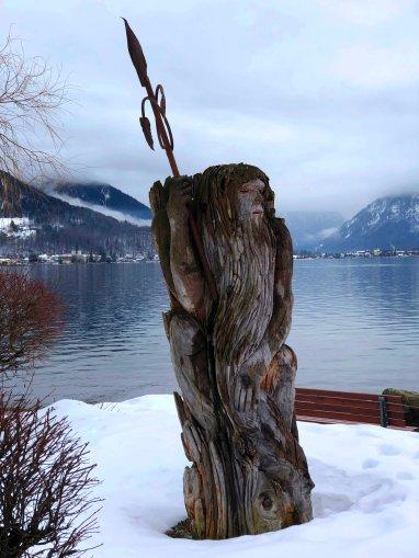 Holzstatur Tegernsee